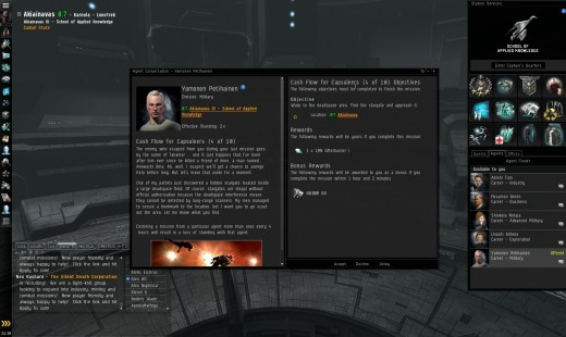 cash flow for capsuleers 4 of 10 eve online mission guide