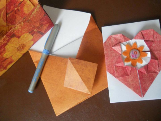 Handmade cards and envelopes are a low cost option when you're looking for craft ideas to sell.