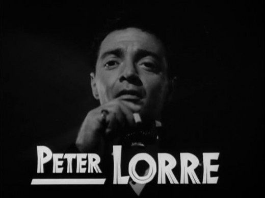 Peter Lorre in Casablanca