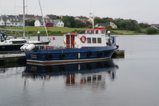 Ferry where you can travel to Scattery from Kilrush in Co Clare