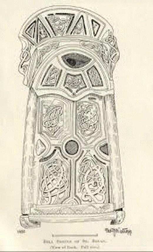 St Senan artwork