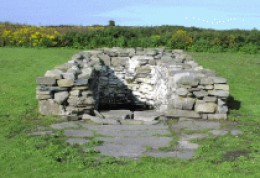 St Senans Well on Scattery Island