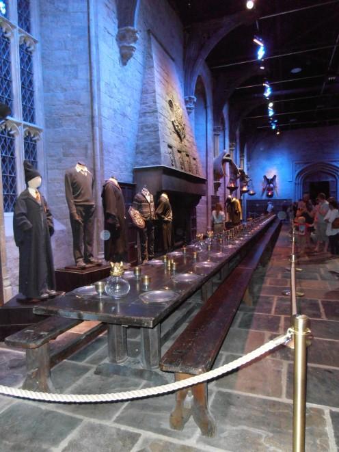 The Grand Hall at Hogwarts