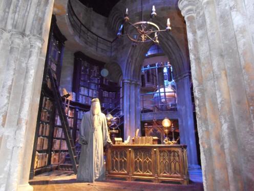 Albus Dumbledore's study