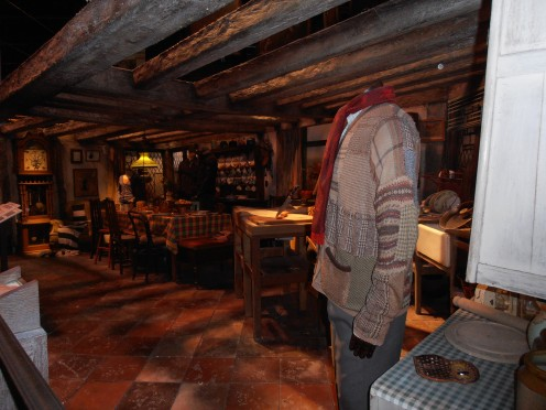 The Burrow, the family home of the Weasley family