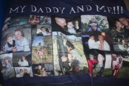 My sons Daddy blanket