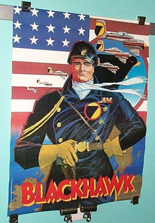 Blackhawk--Another great comic book war hero!