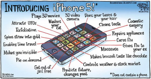 iphone 5 features ?