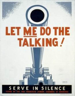 Let Me Do The Talking, 1942.  Artist: Homer Ansley.