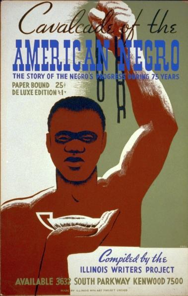 Cavalcade of the American Negro, 1940.    Artist: Cleo Sara.
