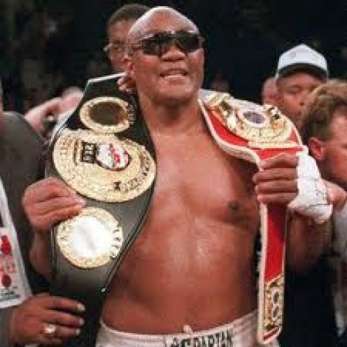 Big George Foreman won the Gold Medal in the 1968 Olympics. He also won the heavyweight championship twice.