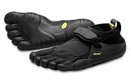 Barefoot running shoes are ideal for the beach offering a little extra protection from cuts and bruises