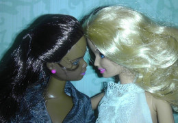 Barbie and her wife, also named Barbie.