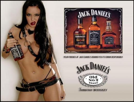 Advertisement for Jack Daniel's Whiskey