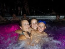 """""""What is your best childhood memory?"""" I tried again. """"Swimming together in our family pool,"""""""