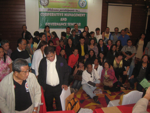 More than 100 participants from 20 active cooperatives of Parañaque City, Philippines