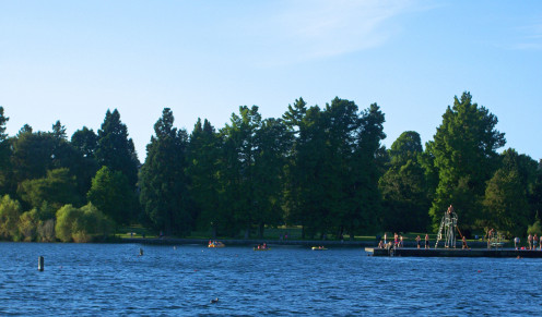 East Swimming Area at Green Lake