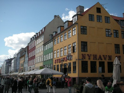 Beautiful facades in Nyhavn