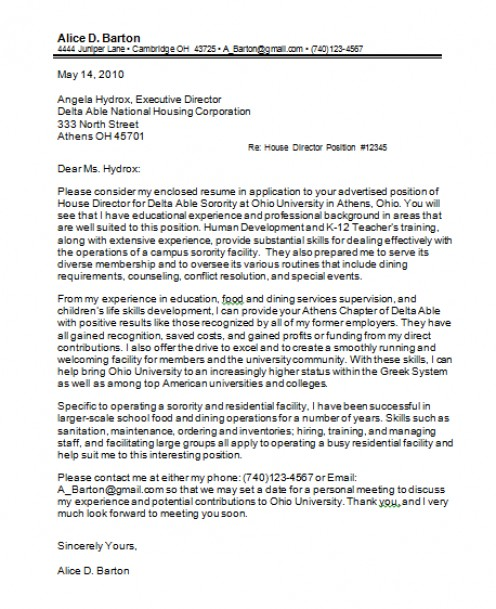 Immediate Start Cover Letter Example: Best Modern Cover Letters That Have Produced Immediate Job