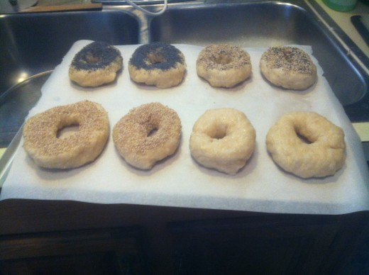 Before they go in the oven