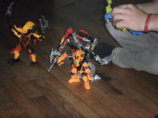 Home lego building extravaganza.