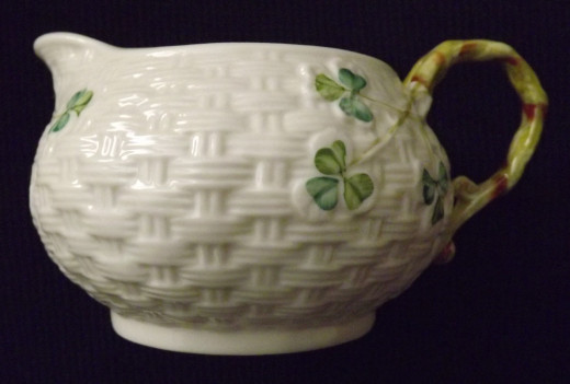 Belleek Shamrock Creamer
