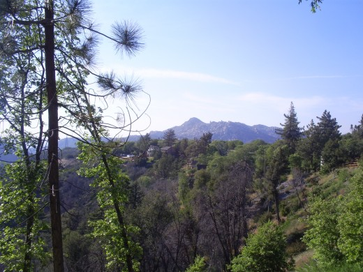 Looking out to the Pinnacles.