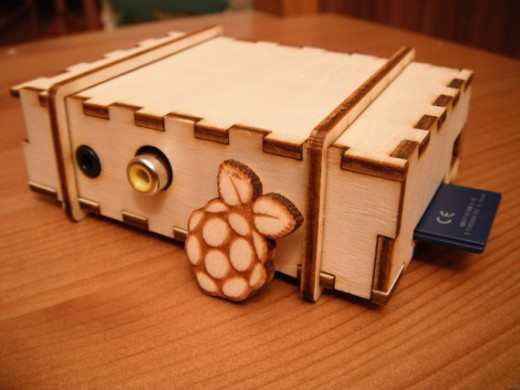 Bramble Pi case for the Raspberry Pi