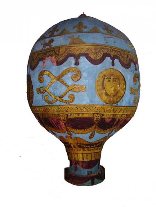 This model of the Montgolfier Balloon was created by Mike Young. The work has been released into the public domain worldwide.
