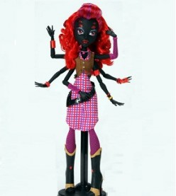 Wydowna Spider - The Daughter Of Arachne Doll From Monster High
