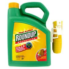 Roundup with weed killer