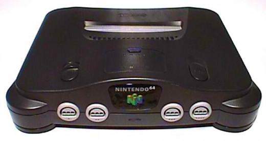 Nintendo 64 game console.