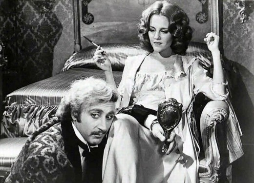 Gene Wilder with Madeline Kahn