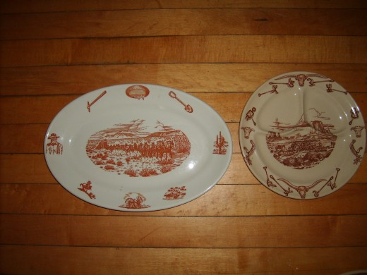 Vintage Wallace China in the El Rancho pattern