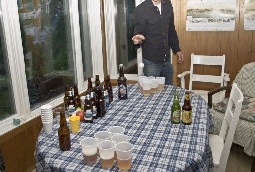 I take everything back.  Beer Pong is never a bad idea.