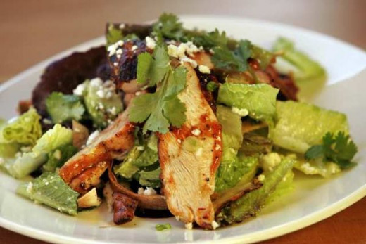 Chipotle Barbecue Chicken Salad at Tender Greens