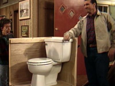 "Al Bundy's toilet of choice  - ""The Ferguson"""