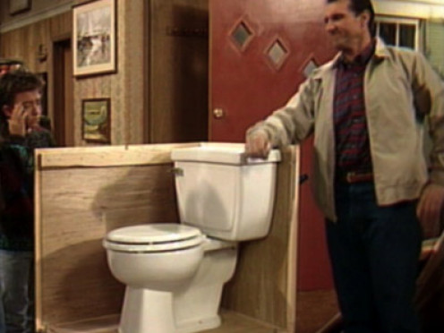 "Al Bundy's toilet of choice  - ""The Ferguson"""
