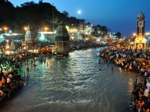 The Beautiful Mother Ganges