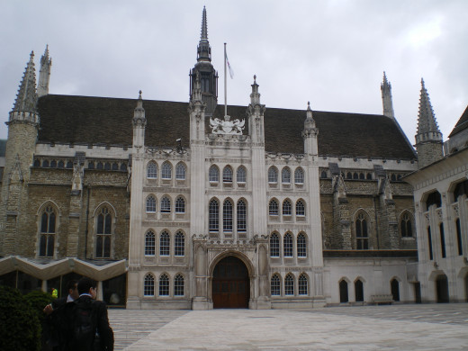 Guildhall in London - Leadership from a bygone era
