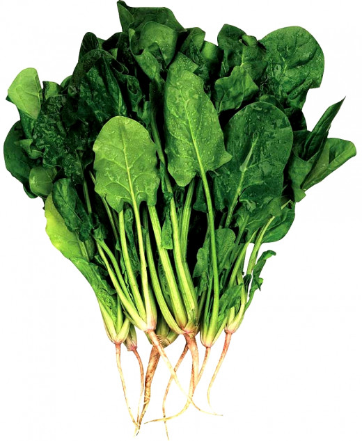 Spinach has an outstanding array of nutrients as shown in its Nutrition data and provides many health benefits. The culinary uses are diverse and varied.