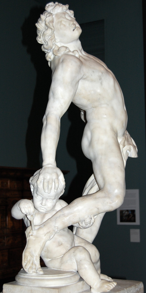 Dying Achilles by Christophe Veyrier, 1683, in the Victoria & Albert Museum