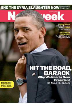 Hit the Road Barack!