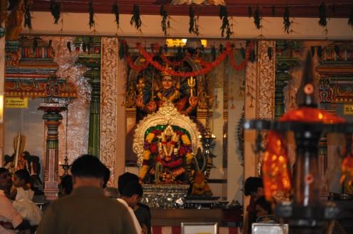 Goddess Sri Mariamman deity.