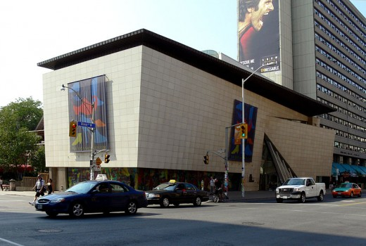 The Bata Shoe Museum in Toronto, Ontario, Canada—designed to look like a shoebox—was photographed by Gisling on September 9, 2007.