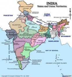 The linguistic diversity of India: Southern States