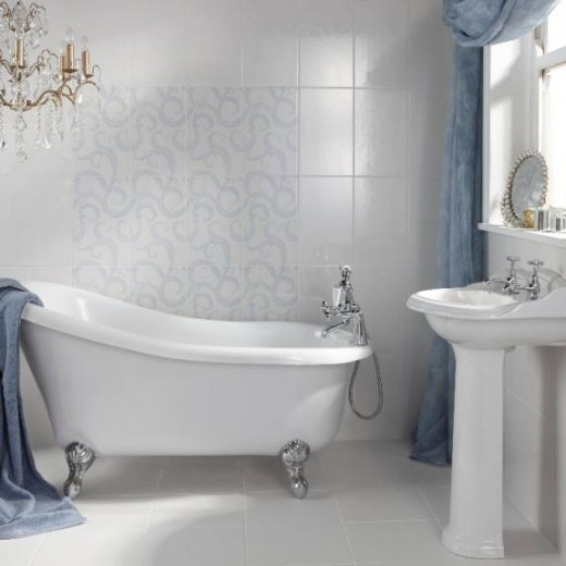 Try and keep your bathroom free of clutter for optimum relaxation space.