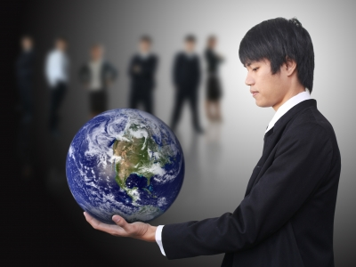 Often ESL students are working profesionals who are studying English in order to advance their career.