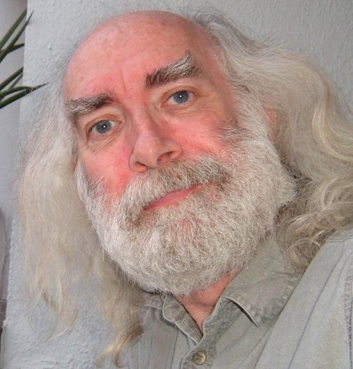 Bard of Ely with full Father Xmas beard