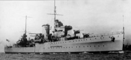 HMS Ajax, a gallant ship